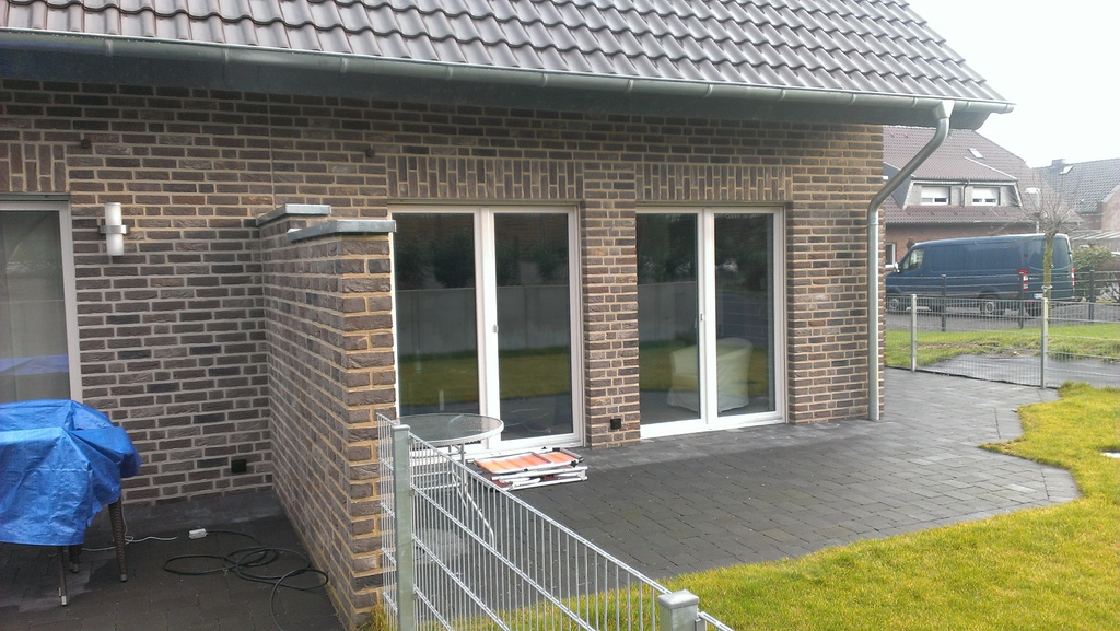 Wasserablauf Terrassendach : Referenzen Goris Rollladen, Fenster, Sonnenschutz in Weeze